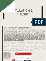 Evaluation 1- Theory