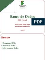 101430-Aula 08 - Banco de Dados