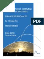 6th Annual LNG Tech Global Summit 2001 - SOFREGAZ Presentation