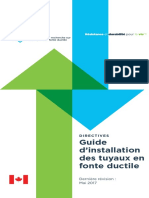 Guidelines DuctileIronPipeInstallGuide French