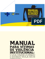 Manual Para Vítimas de Violência Institucional