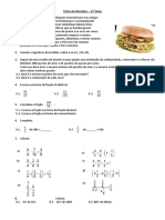 Ficha de Revisões Teste 3 - Manuel