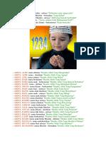 Nama Nama Islam