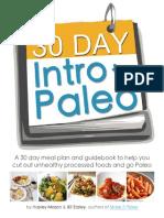 (30 Day Intro to Paleo)