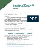 TCF DAP en Quoi Le Test Consiste