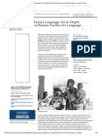 Understanding Human Language_ an in-Depth Exploration of the Human Facility for Language - Inquiries Journal
