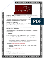 Backtrack 5R3 Linux Commands