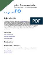 Documentatie Hydro Project