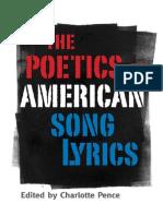 Charlotte Pence Ed. The Poetics of American Song Lyrics.pdf
