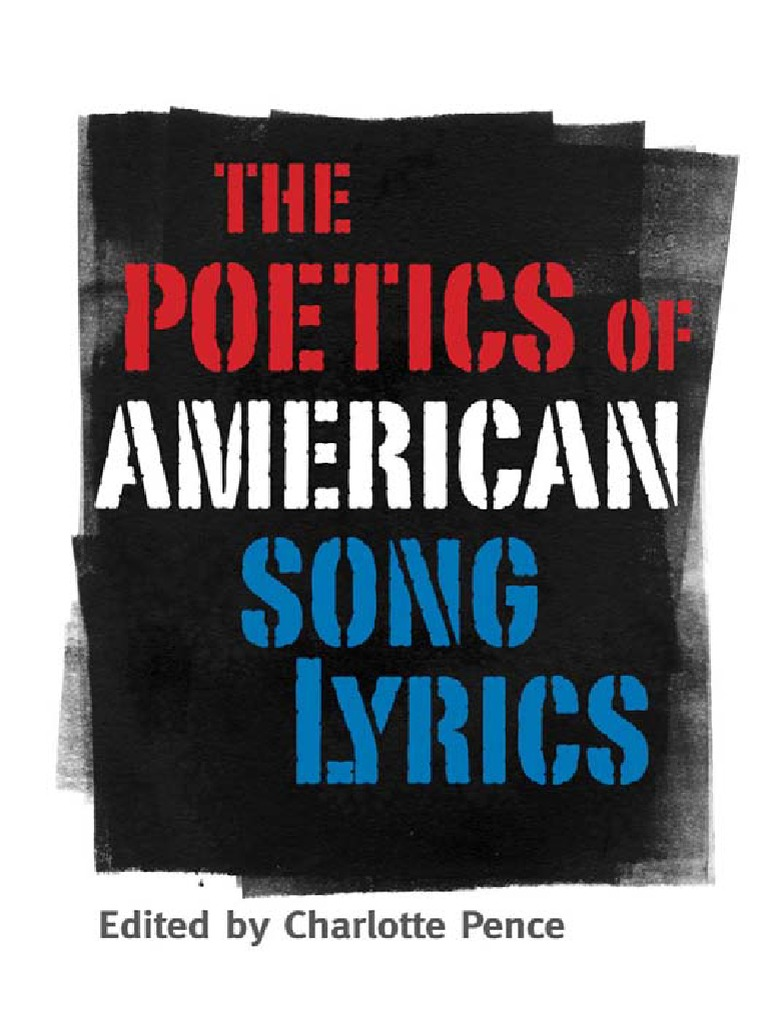 Charlotte pence ed the poetics of american song lyricspdf poetry charlotte pence ed the poetics of american song lyricspdf poetry hip hop music fandeluxe Image collections
