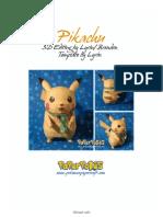 Pikachu Letter Lined Shiny