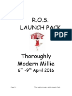 Thoroughly Modern Millie Launch Pack