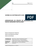 Norma de Distribuicao 6.002 v.3