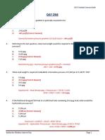 IWCF Workbook Instructor Solution Key