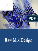 Raw Mix Design