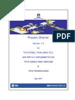 Project Charter TSTH SAP ECC 6.0 Implmenation