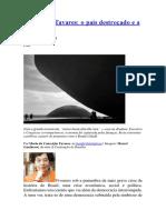 CONCEIÇÃO TAVARES, O País Destroçado e a Alternativa Lula