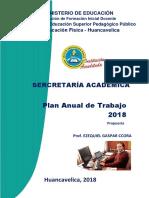 Plan de Secretaria Académica