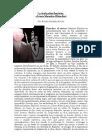 """""""La tentación fascista de Maurice Blanchot"""" por Nicolás González Varela"""