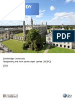 Cambridge University Case Study