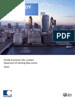 Chubb Insurance Case Study