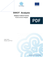 SWOT+religious+tourism+services+in+Bulgaria