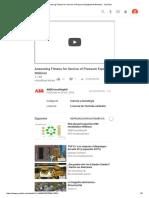 Assessing Fitness for Service of Pressure Equipment Webinar - YouTube