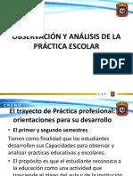 Observación y Análisis de La Práctica Escolar