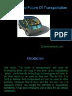 Technical Air Car