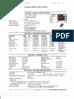 ExxonMobil Chalmette Refining LLC MSDS RFCCU Equilibrium Catalyst