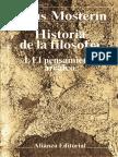 Historia de La Filosofía 1 - El Pensamiento Arcaico - Mosterín