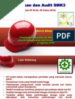 Pres-Rerry Silaban-USU; Penerapan & Audit SMK3 berbasis PP No.50 Thn 2012 (Bimtek-Medan 21-08-2014).pptx
