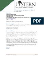 EG Syllabus Real Estate Primary Markets Spring 2014