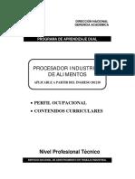 Procesador Industrial de Alimentos 201210