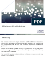 Ericsson- LTE Architecture, KPIs and Troubleshooting - Aircom