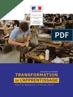 Dossier de presse - Réforme de l'apprentissage - 09.02.2018