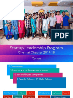 Startup Leadership Program - Jan 6th 2018