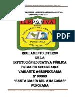 ESQUEMA DEL REGLAMENTO INTERNO   2.docx
