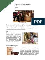 2 Tipos de Vinos
