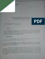 Lettre de l'ambassadeur ivoirien en RDC, le 19 mai 2010.
