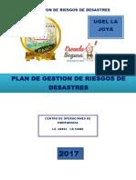 Plan de Gestion de Riesgo 2017