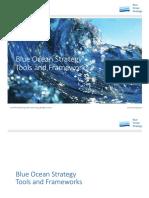 Blue Ocean Strategy Tools Frameworks