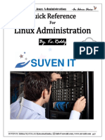 Hands On Guide for Linux Admin(QA)(By Kv Reddy) pdf | Superuser | Sudo