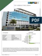 Brochure Itpark CHENNAI