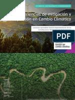 Experiencias de Mitigación y Adaptación en Cambio Climático