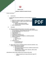 Trabajo Final Comportamiento y Diseño en Concreto 2018-00