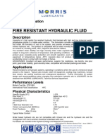 Tds Liquisafe Fire Resistant Hydraulic Fluid