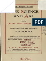 Life, Science, & Art by Ernest Hello