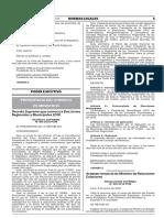 DS_004-2018-PCM_Decreto Supremo Que Convoca a Elecciones Regionales y Municipales 2018