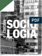 Giddens INTERACCIÓN SOCIAL Y VIDA COTIDIANA